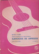 Ejercicios De Arpegios - Elementos Fundamentales De La Tecnica Guitarristica - R