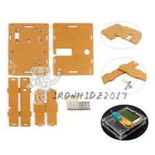 Klar Acrylic Case Shell Housing For LCR-T4 Transistor Tester ESR SCR/MOS PNP B3