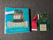 Motorola M6800 1970s 4-Bit Hexidecimal Computer Evaluation Kit II w/Board