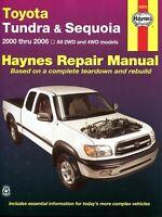 Toyota Tundra & Sequoia Haynes Repair Manual (2000-2007)