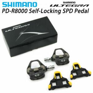 Shimano Ultegra PD-R8000 Road TT Triathlon Bike Carbon Pedals W/ SM-SH11 Cleat