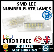 VW TOURAN XENON WHITE LED NUMBER PLATE LAMPS UPGRADE BULBS CANBUS