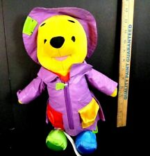 Talking Winnie The Pooh Learn to Dress Fisher Price Disney Plush Stuffed Toy