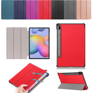 Smart Stand Case For Samsung Galaxy Tab S7 2020 T870 T875 11 Inch leather Folio