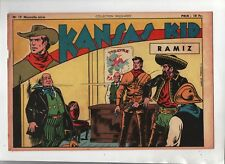 COLLECTION .WILD WEST n°19 nouvelle série -  Kansas Kid.  SAGE 1949 Carlo COSSIO