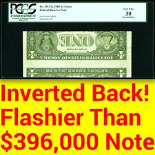 Pcgs Vf30 Inverted Back â–ˆ Flashier Than $396,000 Error! â–ˆ Rarer on Modern Issues