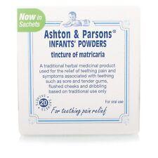Teething Powders Ashton And Parsons 20 Sachets Infants Sealed
