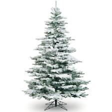 6ft Snowy Flocked Noble Pine Tree Artificial Christmas Tree Best Seller!