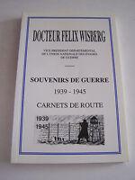 SOUVENIRS DE GUERRE 1939 -1945 , DEDICACE ET TIRAGE A 2000 EX . CENTRE . INDRE .