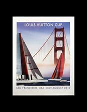 RAZZIA LOUIS VUITTON CUP 2013 SAN FRANCISCO ORIGINAL HAND SIGNED SMALL