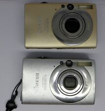 2 X Canon IXUS 80 IS 8.0MP Digital Camera Working  Faulty For Repair or Spares