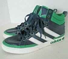 Adidas Originals High Hi Top Trefoil Men's 12 Blue Green Basketball Shoes