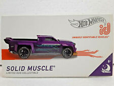 Solid Muscle (2019) Hot Wheels ID Limited Run Collectible Series 1 Nightburnerz