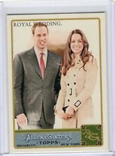 2011 11 ROYAL WEDDING PRINCE WILLIAM TOPPS ALLEN & GINTER GLOSSY #293 #D 290/999