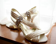 Mid Heel (1.5-3 in.) Satin NEXT Bridal Shoes