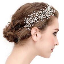 Crystal Diamante Rhinestone Bridal Bridesmaids Wedding Hair Vine Accessories