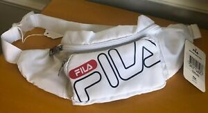FILA Heritage Fanny Pack White Blue Red  Bag Hip Chest Bag  FL-FP-530