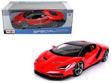 MAISTO 1/18 SPECIAL EDITION LAMBORGHINI CENTENARIO DIECAST CAR 31386RD RED COLOR