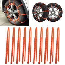 10x Universal Winter Car Wheel Tire Snow Tyres Anti-Skid Chains Thickened Tendon