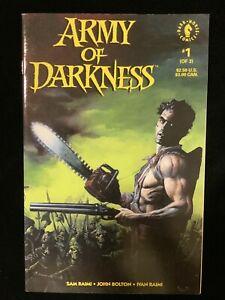 Army of Darkness 1 Dark Horse Comics 1992 NM 1st Ash, Evil Dead Sam Raimi