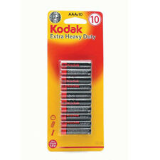 AAA batteries 10 Pack Kodak Extra Heavy Duty For Toy Camera Torch Remote New