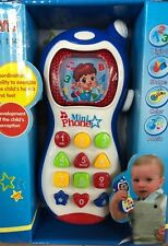 Baby Musical Mobile Phone for Babies Sound Hearing Educate Learning Toy UK STOCK
