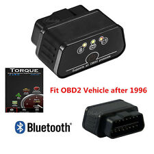 ELM327 OBD2 OBDII Bluetooth Car Fault Diagnostic Scanner Tool For Android PC