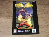 Flying Dragon Instruction Manual Booklet Nintendo 64 N64 Authentic