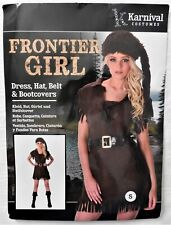 NEW Karnival Halloween Frontier Girl Costume Size S  FREE SHIPPING