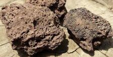 New listing Set of 5 Extra Large 5-6� Red Lava Rock Stone Fish Tank Aquarium Landscaping