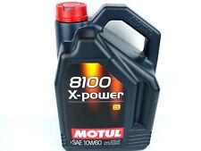 5Liter Motul 10W60 8100 X-Power Hochleistungsöl Motoröl 10W-60 Öl Benzin Diesel