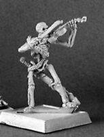 1 x NECROPOLIS MUSICIAN VIOLON - WARLORD REAPER figurine miniature rpg 14291r