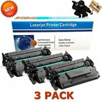 3x Compatible HP 87A Black Laser Toner for CF287A MFP M527c M527dn M527f M527z