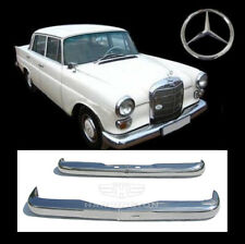 Brand new Mercedes W110 Fintail stainless steel bumpers