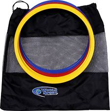 WORLD SPORT Speed Rings Agility Hoops Training AID Soccer Football Lacrosse