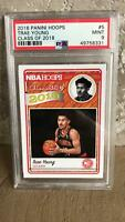 2018-19 TRAE YOUNG Panini Hoops Class Of 2018 PSA 9 MINT #5 Rookie RC