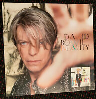DAVID BOWIE Reality 24x24 orig promo poster record store display 2003 Columbia