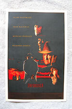 Unforgiven Lobby Card Movie Poster Clint Eastwood Gene Hackman