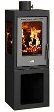 Wood Burning Stove Fireplace Log Burner Solid Fuel Prity Panorama PMV3