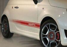 MFT700 MINIGONNE LATERALI IN VETRORESINA PER FIAT 500 07 >