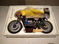 Vintage/Antique Kyosho RC Mortorcycle w/Rider. Chain drive. Original box. RARE!