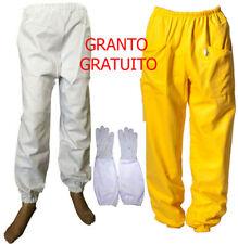 pantaloni di cotone realizzati interamente in cotone per apicoltori [URBANSBEE]
