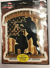 """New Military """"Americas Best"""" Sticker / Decal Army Navy Marines Air Force"""