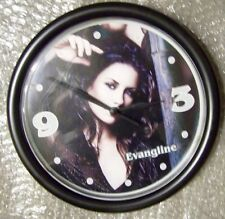 """EVANGELINE LILY 9"""" - WALL MOUNT CLOCK - ABC LOST & ANT-MAN & THE WASP - RARE"""