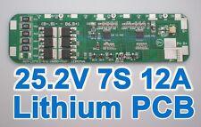 7S Li-ion Lithium Battery Input Ouput Protection Board PCB 25.2V 25.9V 29.4V BMS