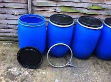 10 drums x 120 Ltr water butt, storage container, bio diesel storage, tank, drum