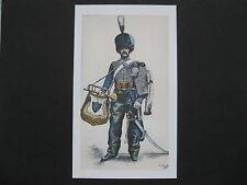 Reproduction de tableau : trompette du 8ème Hussards
