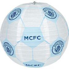 Manchester City Football Concertina Paper Light Shade 30cm Fan Kids