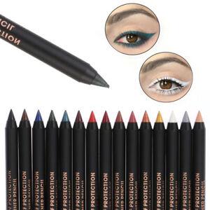 1Pc Long Lasting Eye Liner Pencil Waterproof Pigment Eyeliner Makeup Beauty