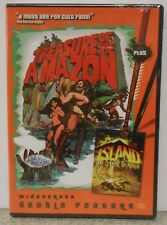 Treasure of the Amazon 1985 / Island of Lost Souls 1974 (DVD 2007) RARE SET NEW